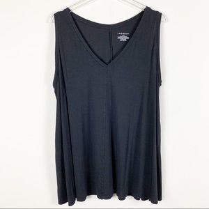 Lane Bryant Flowy V Neck Tank Top